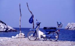 wyspa bay motocykla Obraz Royalty Free