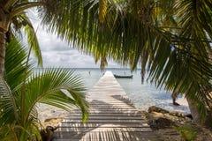 Wyspa Belize Zdjęcia Stock