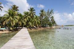 Wyspa Belize Obrazy Royalty Free
