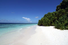 wyspa bezludna Zdjęcia Royalty Free