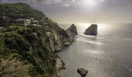 Wyspa Capri Zdjęcie Stock