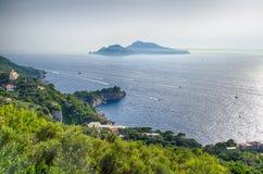 Wyspa Capri, Włochy Obrazy Stock