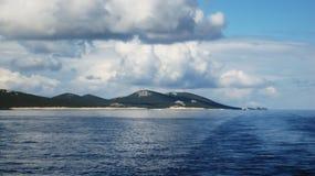 wyspa długo Zdjęcia Stock