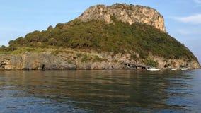 Wyspa Dino przy świtem zbiory