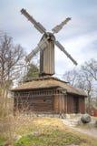 Wyspa Djurgarden, Sztokholm Skansenowski muzeum millage Fotografia Stock