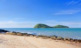 wyspa dwoisty wakacyjny kurort Obrazy Royalty Free