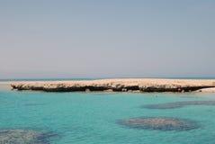 Wyspa dzierżymorda morza czerwonego Zdjęcia Royalty Free