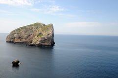 Wyspa Foradada, Alghero - Fotografia Royalty Free