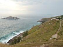 Wyspa, góra i plaża w Arraial, robimy Cabo Rio De Janeiro zdjęcia royalty free