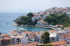 wyspa grecki widok Zdjęcie Stock