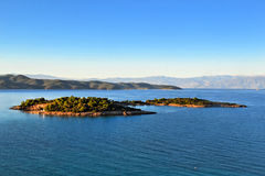 Wyspa Hinitsa Obrazy Stock