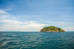 Wyspa Tajlandia i morze Zdjęcie Stock