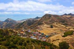 wyspa kanaryjska góry Tenerife Zdjęcia Royalty Free