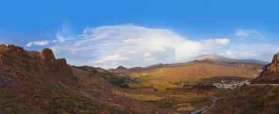 wyspa kanaryjska góry Tenerife Zdjęcia Stock