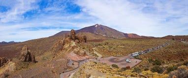 wyspa kanaryjska Spain teide Tenerife wulkan zdjęcie stock