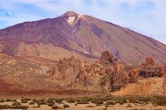 wyspa kanaryjska teide Tenerife wulkan fotografia royalty free