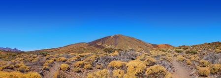 wyspa kanaryjska teide Tenerife wulkan obrazy royalty free