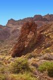 wyspa kanaryjska teide Tenerife wulkan obrazy stock