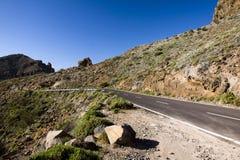wyspa kanaryjska Tenerife sposób Obraz Stock