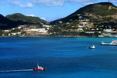 Wyspa Karaibska Fotografia Royalty Free