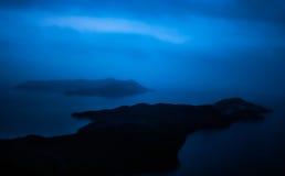 Wyspa Kastelorizo i Kasa półwysep (megisti) obraz stock