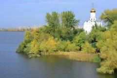 wyspa klasztorna obrazy stock