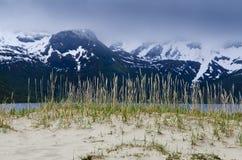wyspa krajobraz lofoten Fotografia Royalty Free