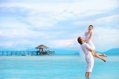 Wyspa ślub Obraz Royalty Free
