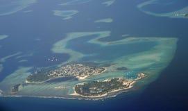 wyspa Maldives Zdjęcie Royalty Free