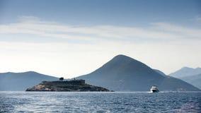 Wyspa Mamula Zdjęcia Stock