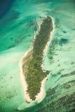 Wyspa na Maldives zdjęcia stock