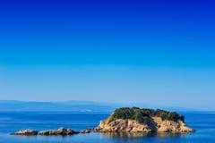 wyspa na morzu egejskim mały Obrazy Stock