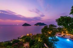 wyspa nangyuan Zdjęcia Royalty Free