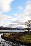 Wyspa Skye w zima kolorach Obrazy Stock
