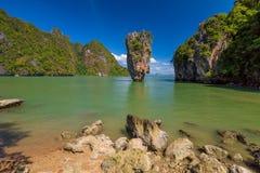 wyspa niewolna James Fotografia Stock