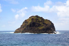 wyspa osamotniona Obrazy Royalty Free