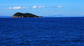 wyspa osamotniona Obrazy Stock