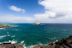 wyspa osamotniona Zdjęcia Royalty Free