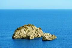 wyspa osamotniona Fotografia Stock