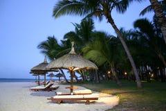 wyspa parasole Zdjęcie Royalty Free