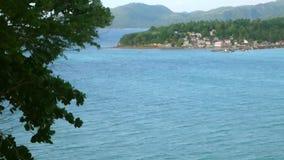 Wyspa przeglądać od góra wierzchołka zdjęcie wideo
