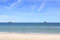 Wyspa przy Hua hin, Thailand Obrazy Royalty Free