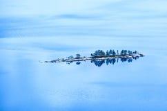 wyspa samotna Obrazy Royalty Free