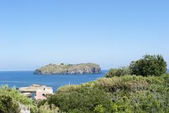Wyspa Santo Stefano Obrazy Stock