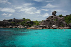 wyspa similan Obraz Stock