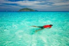 wyspa similan Zdjęcia Royalty Free
