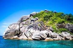 wyspa similan zdjęcie stock