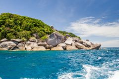 wyspa similan Fotografia Stock