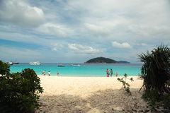 wyspa similan Obrazy Royalty Free