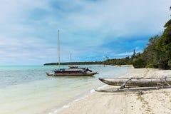 Wyspa sosny odsadni czółna Zdjęcia Stock